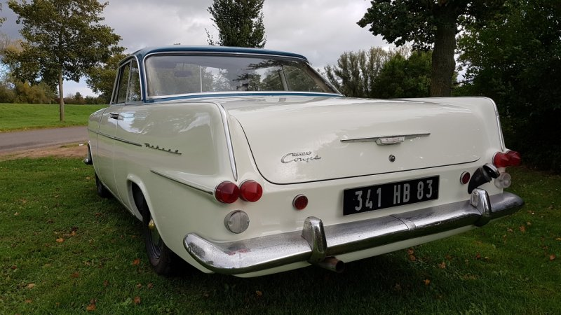 Opel Rekord P2 Coupe 1963